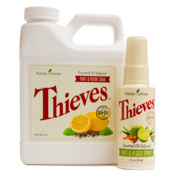 Thieves Fruit & Veggie Wash Combo Pack