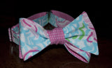 Designer Lobsters and Waves Bow Tie