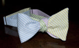 8-Way Seersucker Bow Tie