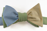 8-Way Gingham Bow Tie