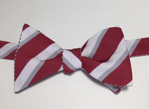 College Stripe - maroon