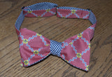 St. Louis Flag Bow Tie - red