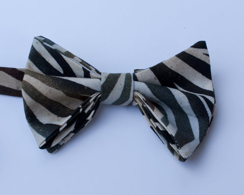 Antelope Stripe Bow Tie - Youth