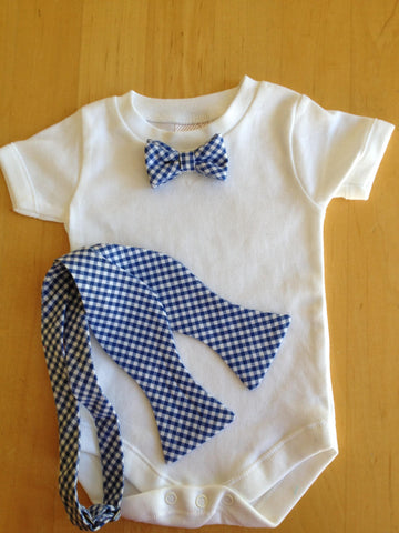 Baby Onsie or tshirt with bow tie