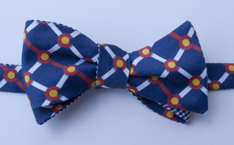 Colorado Flag Bow Tie