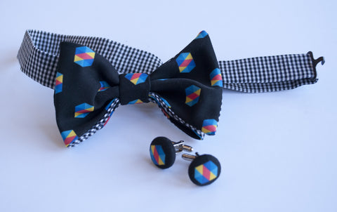 Business Custom Logo Bow Tie