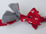 French Bulldog Bow Tie - white dog