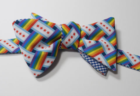 Chicago Gay Pride Bow Tie