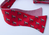 Golden Retriever Bow Tie - red