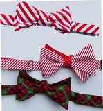 Christmas Bow Ties for Dogs - Festive Patterns