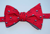 Ice Hockey Bow Tie - blue