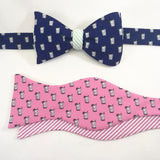 Mint Julep Bow Tie - Navy