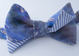 Monet Waterlilies Bow Tie