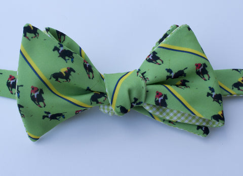 Polo Team Bow Tie - green