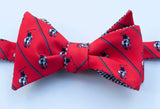 Polo Player Bow Tie - red