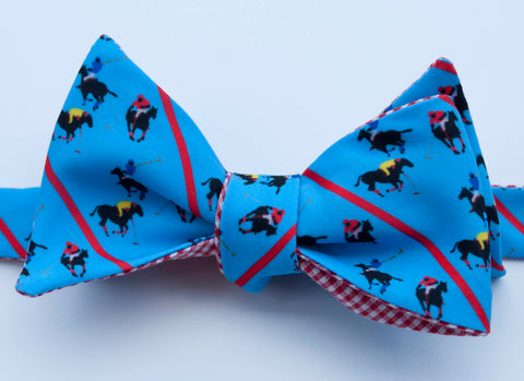 Polo Team Bow Tie - blue