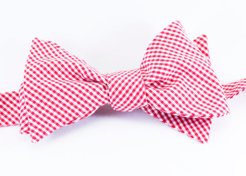 School red bow tie