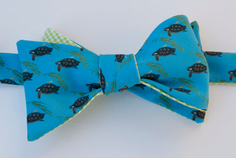 Sea Turtle Bow Tie