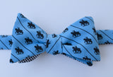 St. Louis Statue Bow Tie - blue