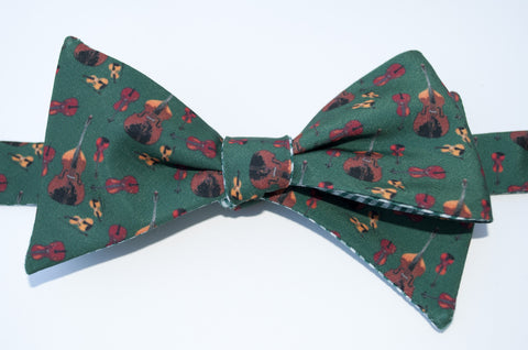 String Instruments Bow Tie