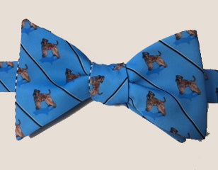 Wheaten Terrier Dog Bow Tie