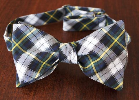 Scottish  Plaid Bow Tie