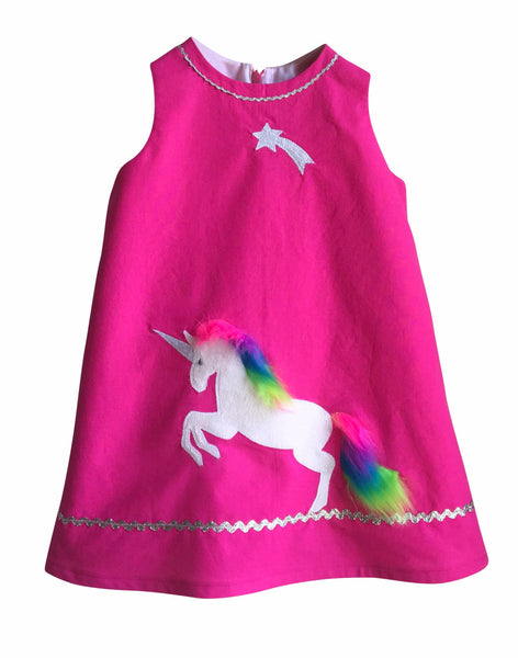 Girl's Young Maiden Unicorn Dress