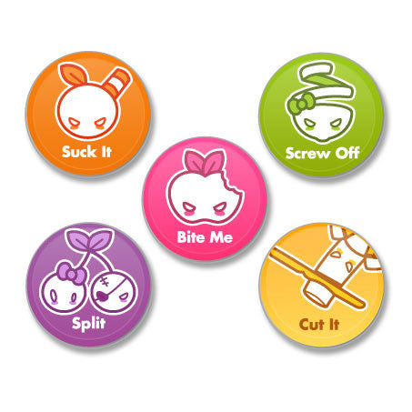 Appley Assorted Buttons (5pcs)