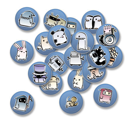 Pixipets Assorted Buttons (12pcs)