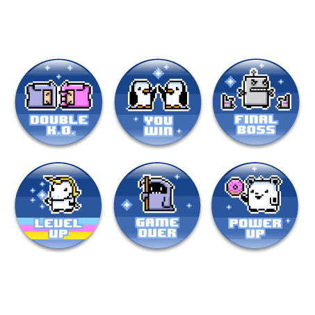 Pixelpets Assorted Buttons (6pcs)