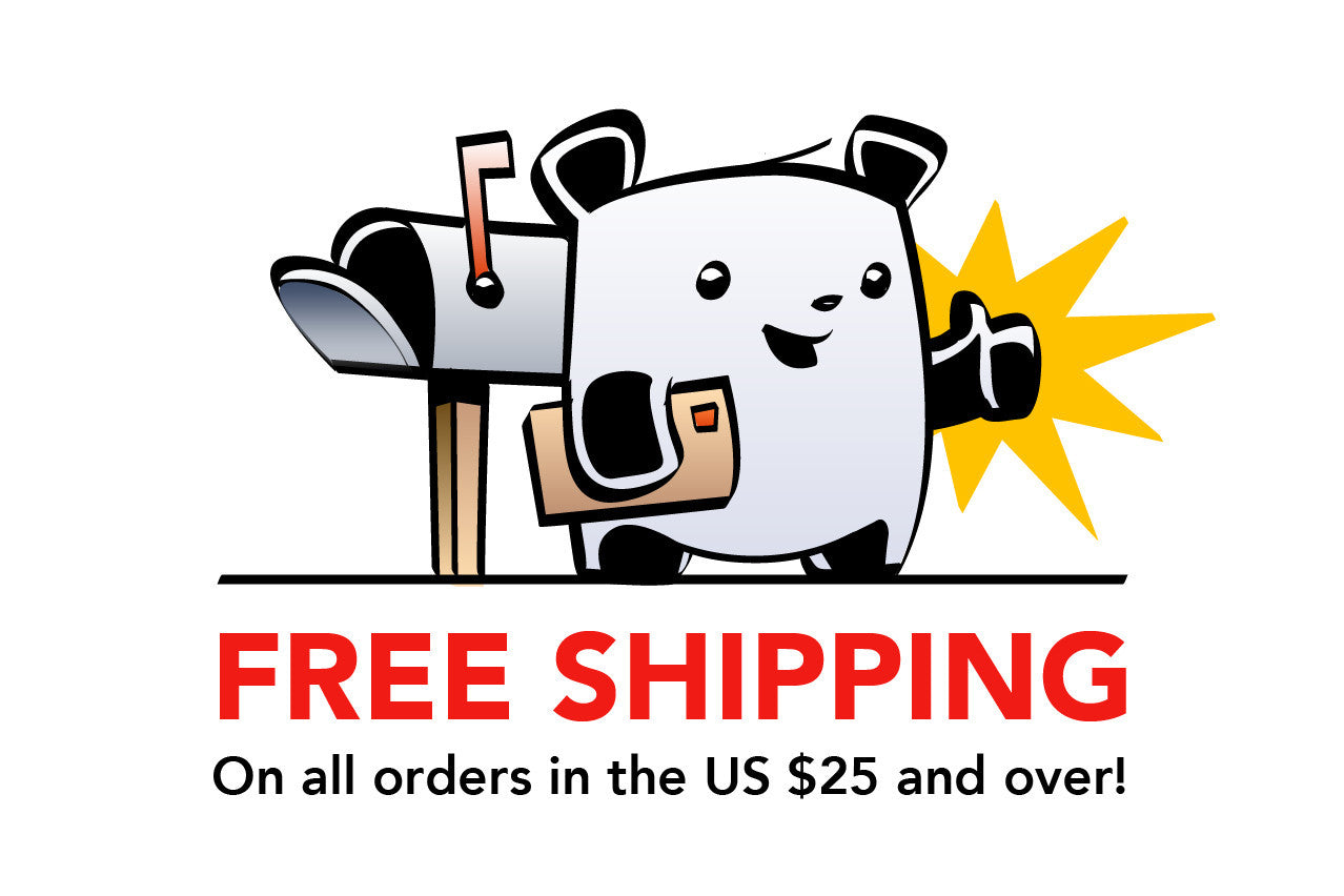 Free shipping on orders over $25!