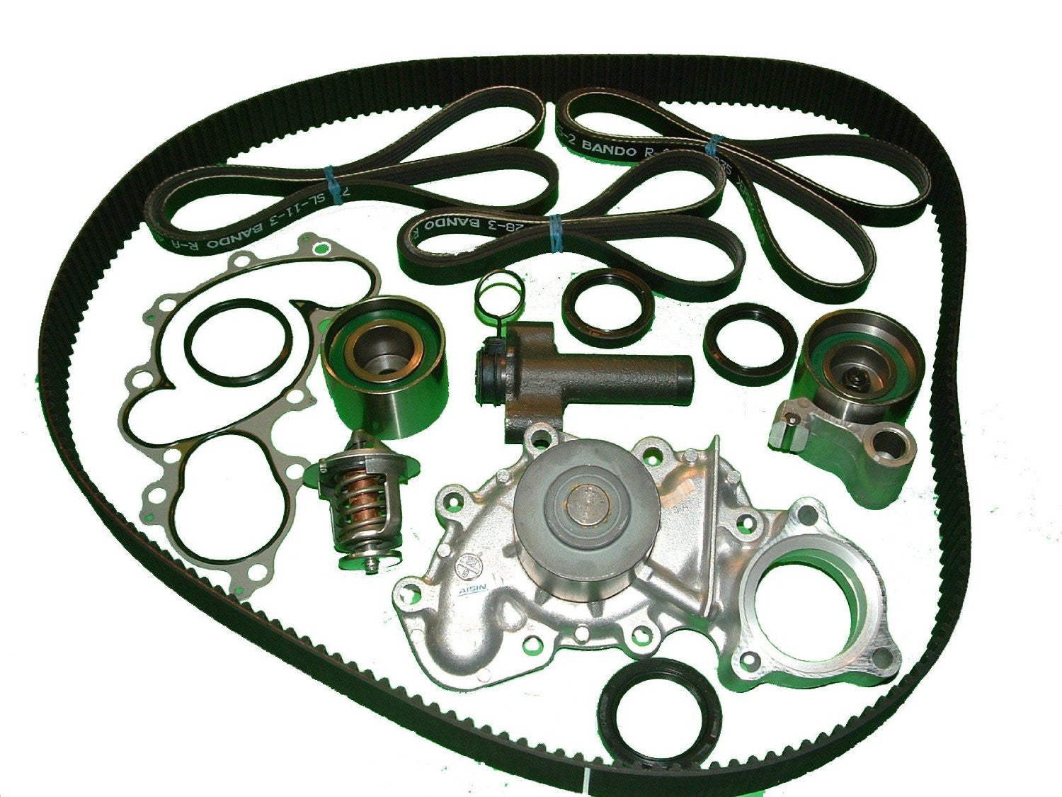 Timing Belt Kit Toyota T100 1995 To 1998 34l V6 Without Oil Cooler The And Front Seal On A