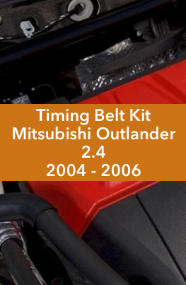 Timing Belt Kit Mitsubishi Outlander 2.4 2004 2005 2006