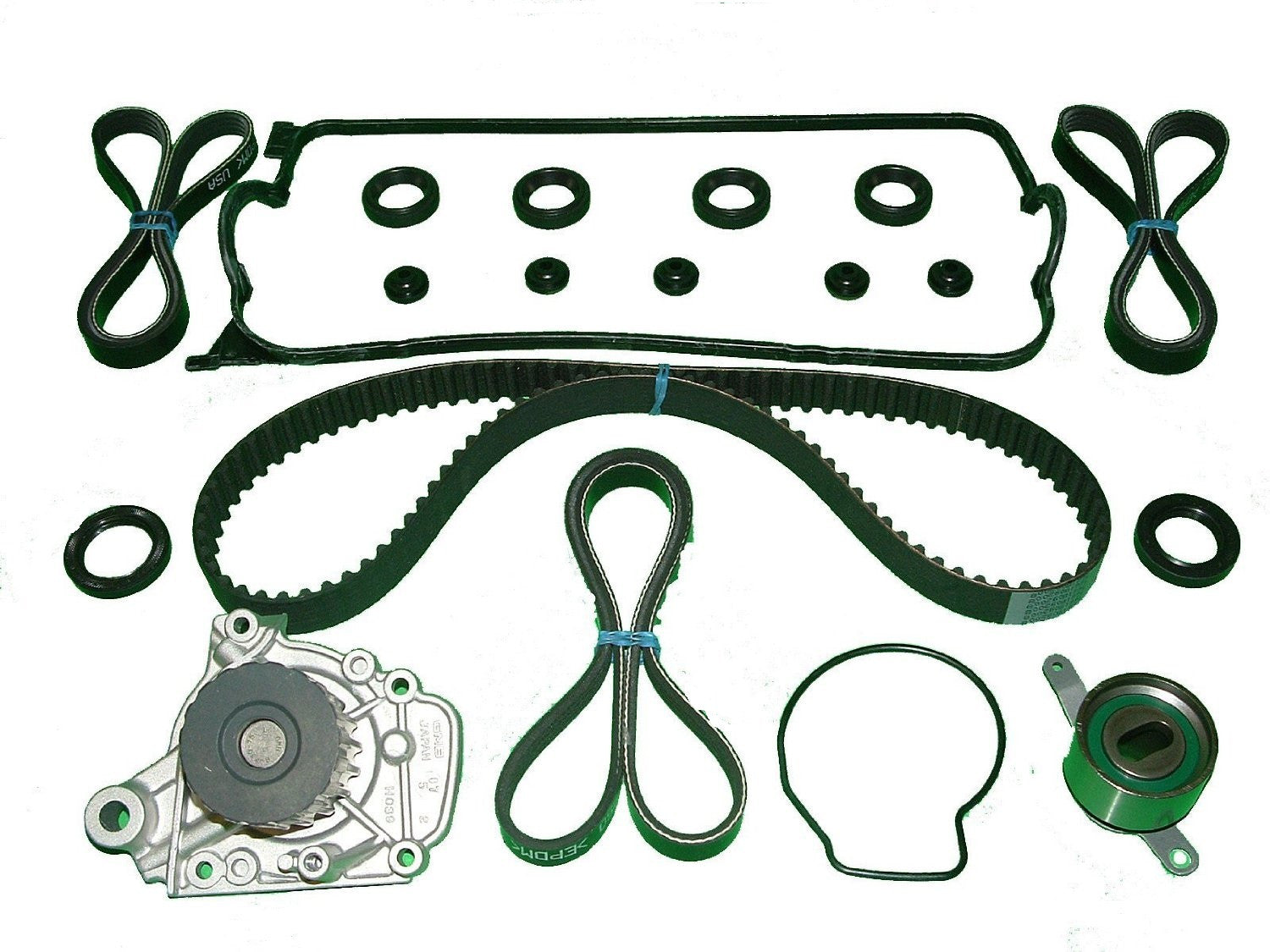 Timing Belt Kit Honda Civic Ex 16 1992 To 1995 Wiring Library 92 Harness