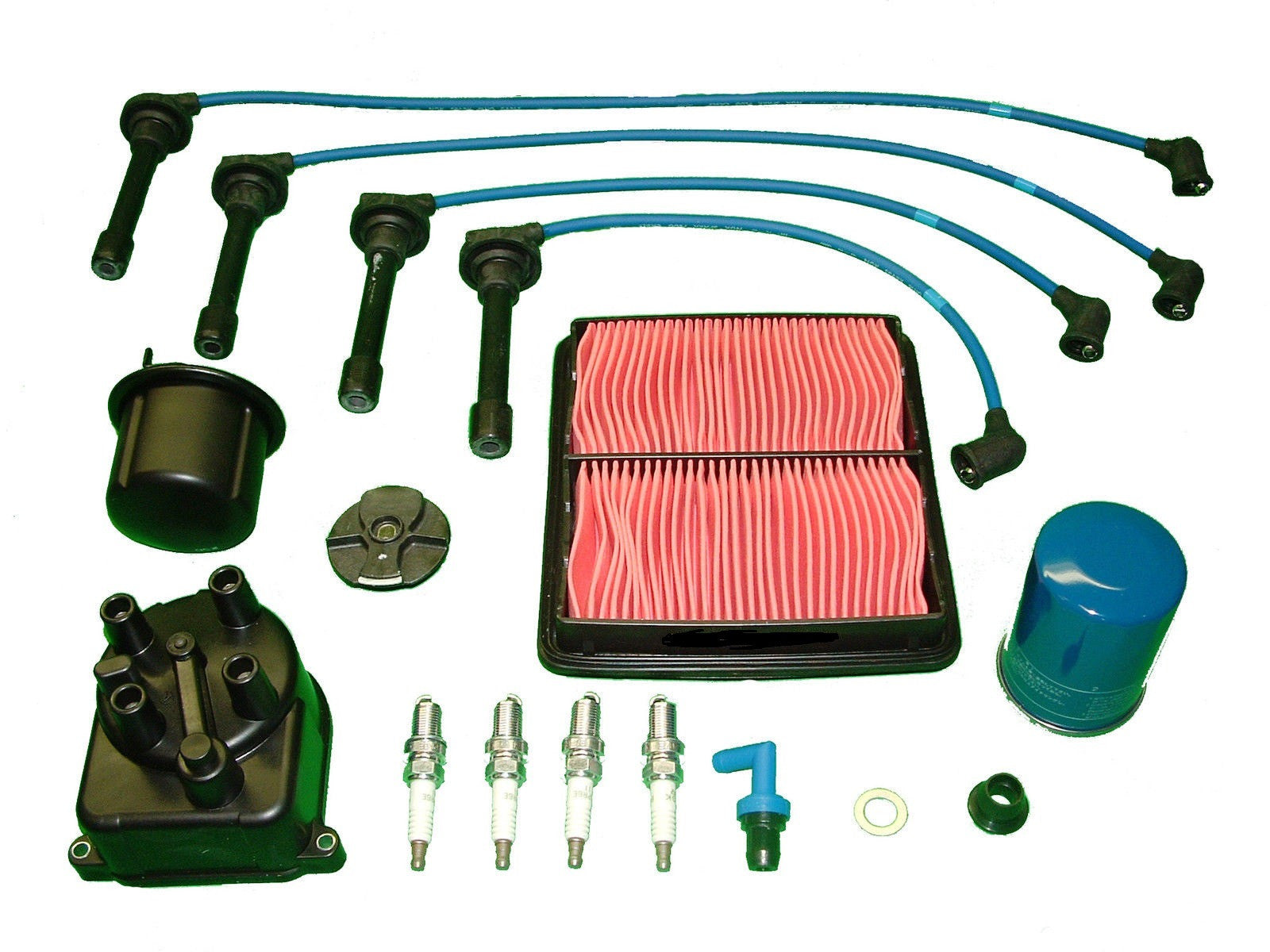 Tune Up Kit Honda Civic Ex And Si 16l 1992 To 1994