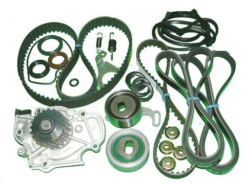 Timing Belt Kit Honda Prelude Si and Se 2.3l 1992 to 1996