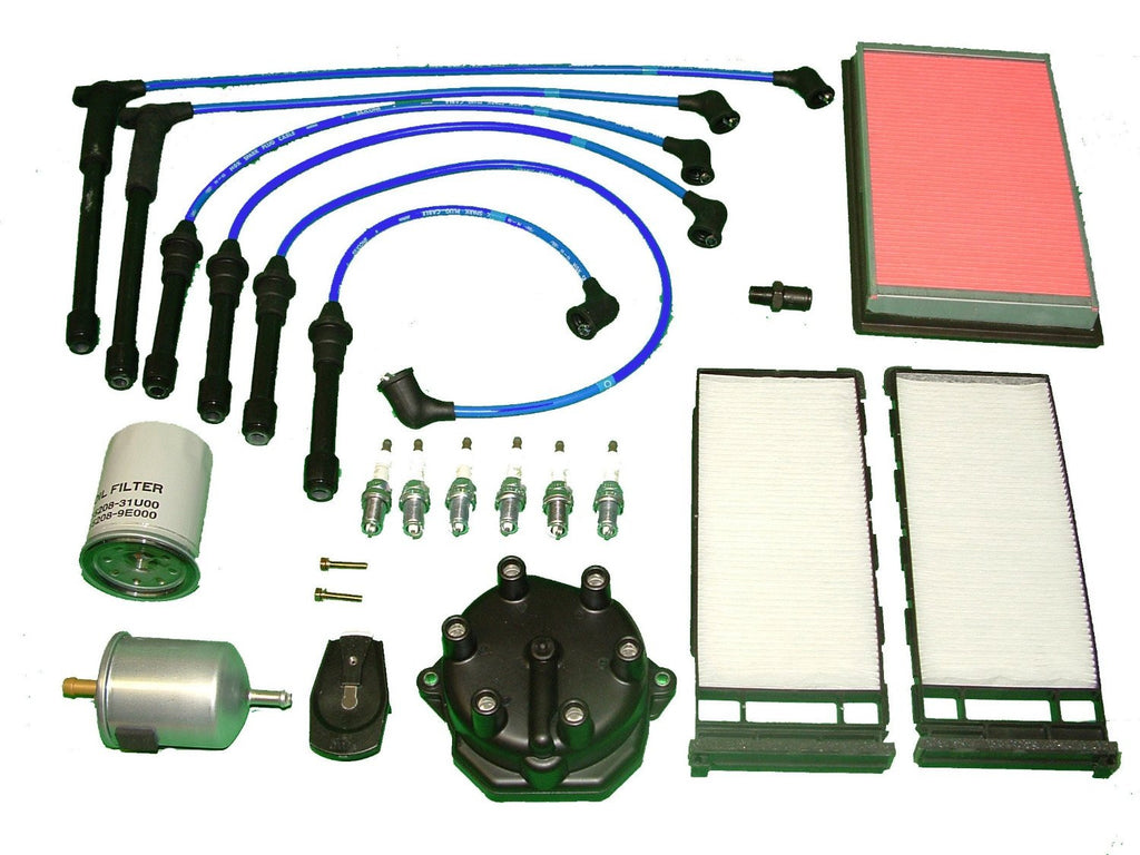 Tune Up Kit Nissan Frontier 1999 to 2002 3.3L 6Cyl.