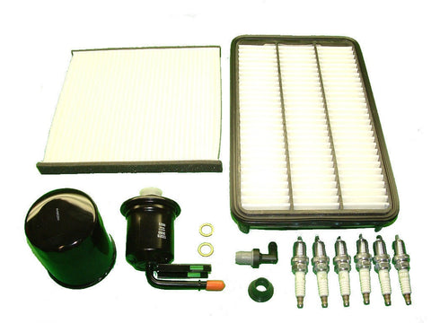 Tune Up Kit Toyota Avalon 2001 2002 Plugs Filters