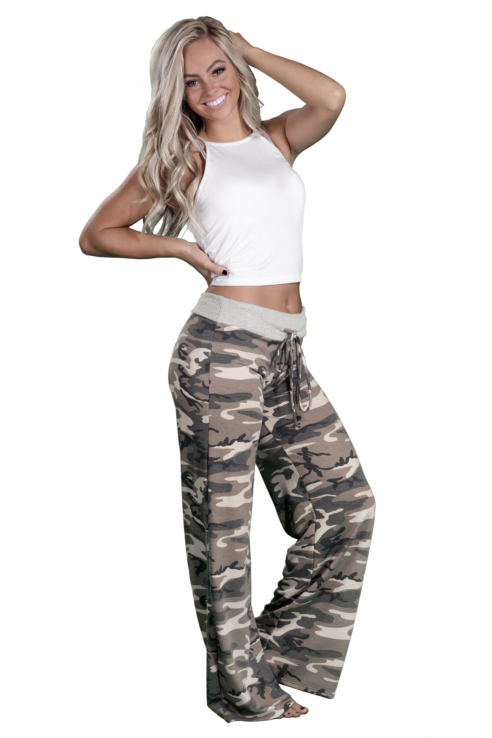 a333186343385 Women's Cant See Me Camo Lounge Pajama Pants | Inspire L' Amour