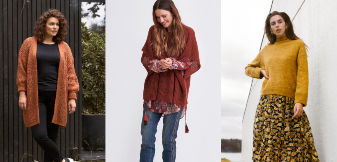 shop local sweaters by C'est Sera and Kelly Wollf boutique