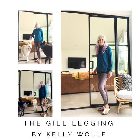 french terry Gill leggings by Kelly Wollf