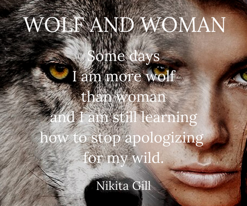 wolf and woman quote