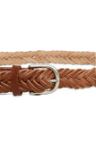 Part Two Elen Braided Leather Belt