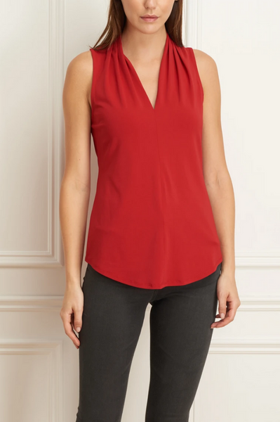 I by Iris Sleeveless V-Neck Top