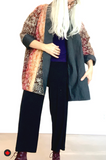 Kelly Wollf Hoari Long Reversible Kimono Jacket