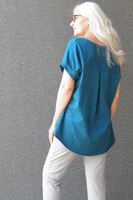 Kelly Wollf River One-Sized Hemp/Cotton T-Shirt