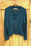 Kelly Wollf Nina Sweater Knit Button Front Cardigan