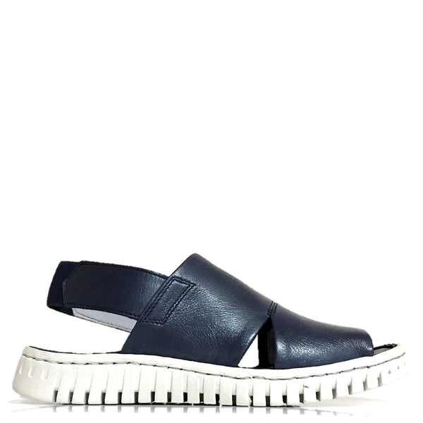 Myo Mabel Sandal in Navy