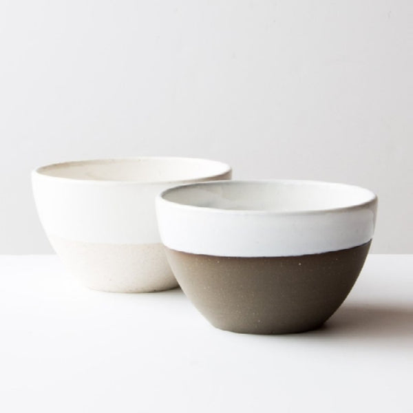 handmade ceramic soup bowl made in Canada Atelier Trema in Edmonton