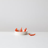 Atelier Trema Ceramic Dip Plate in Grey or White